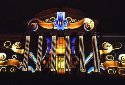 projection mapping romania