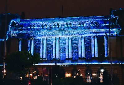 Energy of Bucharest - Video Mapping