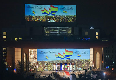 Centenarul Marii Uniri Video Mapping