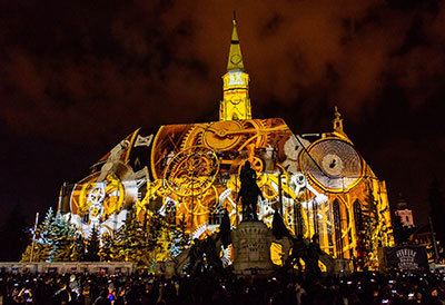 Zilele Clujului Video Mapping